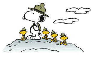 SnoopyWoodstockScouts