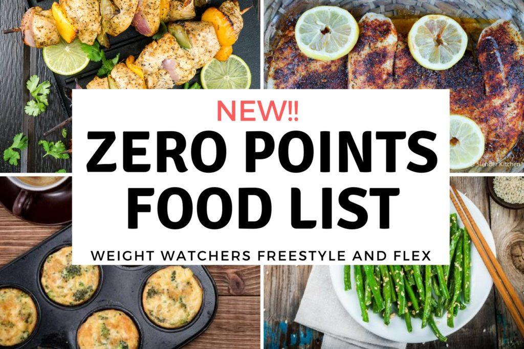 régime weight watcher les points
