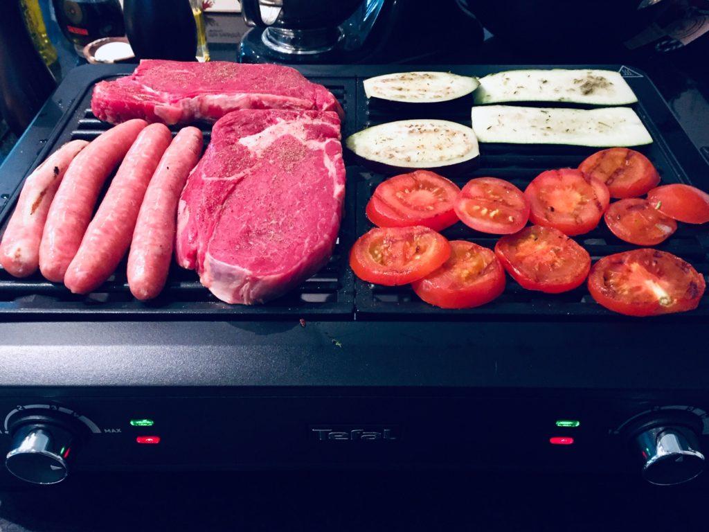 Melo en cuisine : test du Smoke Less Indoor Grill Tefal
